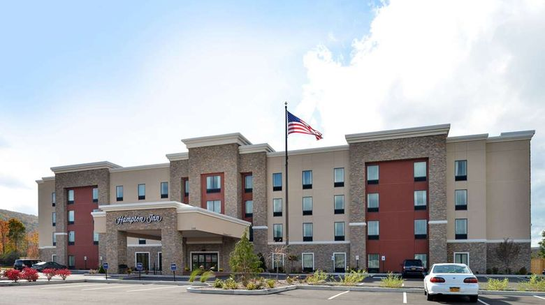 """Hampton Inn Corning/Painted Post Exterior. Images powered by <a href=""""http://web.iceportal.com"""" target=""""_blank"""" rel=""""noopener"""">Ice Portal</a>."""