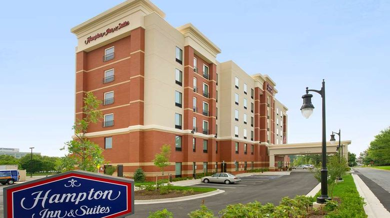 """Hampton Inn  and  Suites Gaithersburg Exterior. Images powered by <a href=""""http://web.iceportal.com"""" target=""""_blank"""" rel=""""noopener"""">Ice Portal</a>."""