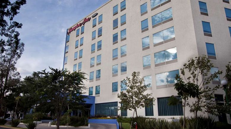 """Hampton Inn by Hilton Guadalajara/Expo Exterior. Images powered by <a href=""""http://web.iceportal.com"""" target=""""_blank"""" rel=""""noopener"""">Ice Portal</a>."""