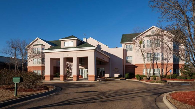 """Homewood Suites Jackson-Ridgeland Exterior. Images powered by <a href=""""http://web.iceportal.com"""" target=""""_blank"""" rel=""""noopener"""">Ice Portal</a>."""