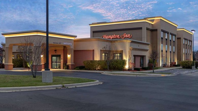 """Hampton Inn Elkhorn Exterior. Images powered by <a href=""""http://web.iceportal.com"""" target=""""_blank"""" rel=""""noopener"""">Ice Portal</a>."""