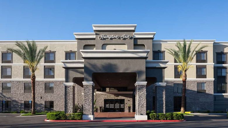 """Hampton Inn Los Angeles Exterior. Images powered by <a href=""""http://web.iceportal.com"""" target=""""_blank"""" rel=""""noopener"""">Ice Portal</a>."""