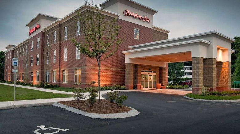 """Hampton Inn - Augusta Exterior. Images powered by <a href=""""http://web.iceportal.com"""" target=""""_blank"""" rel=""""noopener"""">Ice Portal</a>."""