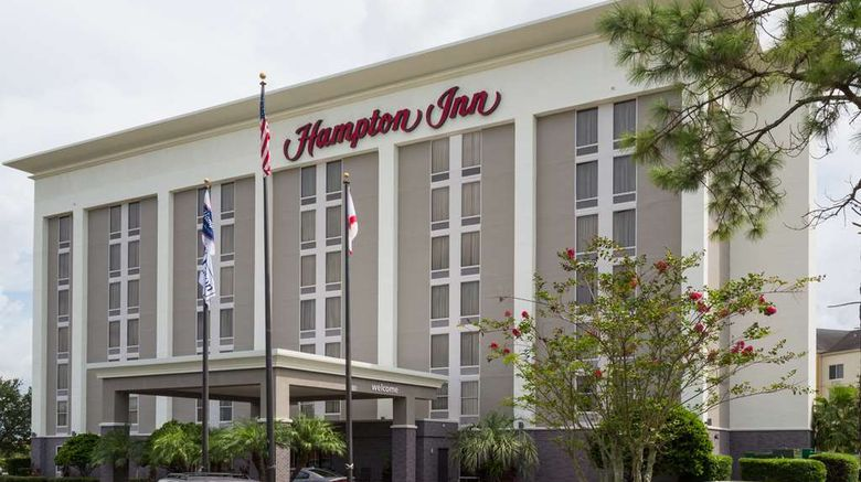 """Hampton Inn Orlando-Intl Airport Exterior. Images powered by <a href=""""http://web.iceportal.com"""" target=""""_blank"""" rel=""""noopener"""">Ice Portal</a>."""