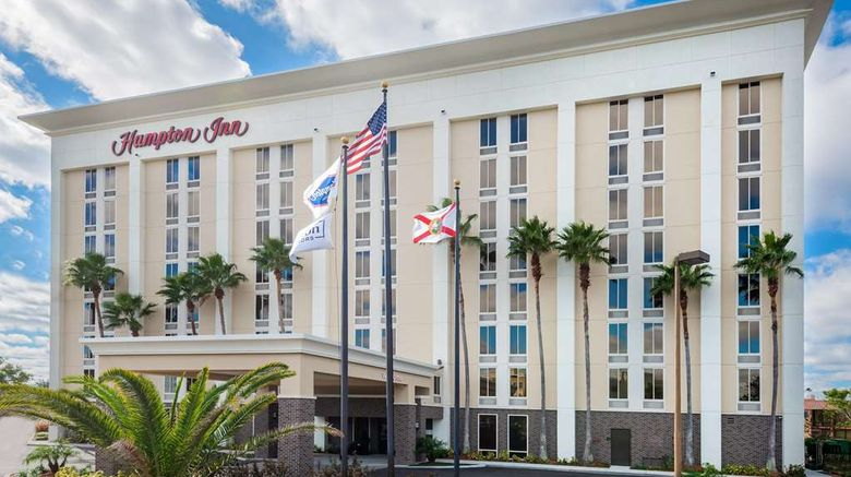 "Hampton Inn Orlando Near Universal Blvd Exterior. Images powered by <a href=""http://web.iceportal.com"" target=""_blank"" rel=""noopener"">Ice Portal</a>."