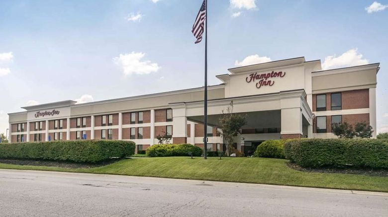 """Hampton Inn Richmond Exterior. Images powered by <a href=""""http://web.iceportal.com"""" target=""""_blank"""" rel=""""noopener"""">Ice Portal</a>."""