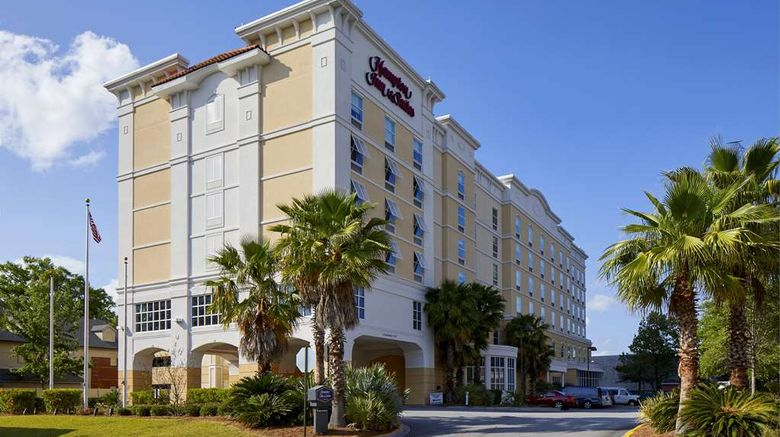 """Hampton Inn  and  Suites Savannah/Midtown Exterior. Images powered by <a href=""""http://web.iceportal.com"""" target=""""_blank"""" rel=""""noopener"""">Ice Portal</a>."""