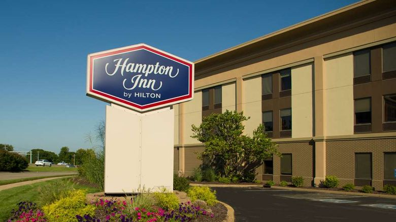 """Hampton Inn St Louis Exterior. Images powered by <a href=""""http://web.iceportal.com"""" target=""""_blank"""" rel=""""noopener"""">Ice Portal</a>."""
