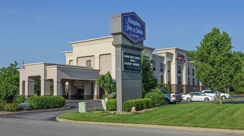 """Hampton Inn  and  Suites Youngstown-Canfield Exterior. Images powered by <a href=""""http://web.iceportal.com"""" target=""""_blank"""" rel=""""noopener"""">Ice Portal</a>."""