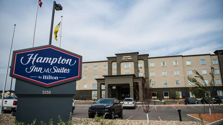 """Hampton Inn  and  Suites, Regina East Gate Exterior. Images powered by <a href=""""http://web.iceportal.com"""" target=""""_blank"""" rel=""""noopener"""">Ice Portal</a>."""