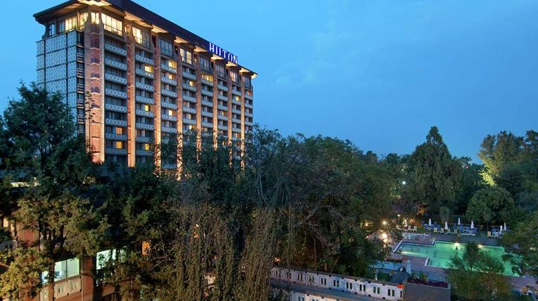 """Hilton Addis Ababa Exterior. Images powered by <a href=""""http://web.iceportal.com"""" target=""""_blank"""" rel=""""noopener"""">Ice Portal</a>."""