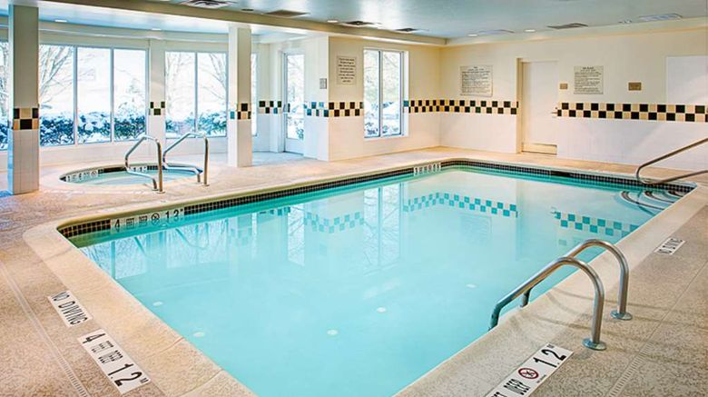 """<b>Hilton Garden Inn Albany Airport Pool</b>. Images powered by <a href=""""https://iceportal.shijigroup.com/"""" title=""""IcePortal"""" target=""""_blank"""">IcePortal</a>."""