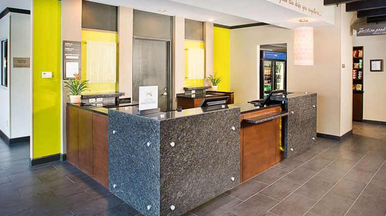 """<b>Hilton Garden Inn Albany Airport Lobby</b>. Images powered by <a href=""""https://iceportal.shijigroup.com/"""" title=""""IcePortal"""" target=""""_blank"""">IcePortal</a>."""