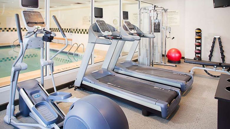 """<b>Hilton Garden Inn Albany Airport Health</b>. Images powered by <a href=""""https://iceportal.shijigroup.com/"""" title=""""IcePortal"""" target=""""_blank"""">IcePortal</a>."""
