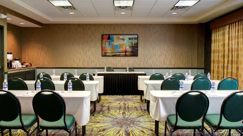 """<b>Hilton Garden Inn Albany Airport Meeting</b>. Images powered by <a href=""""https://iceportal.shijigroup.com/"""" title=""""IcePortal"""" target=""""_blank"""">IcePortal</a>."""
