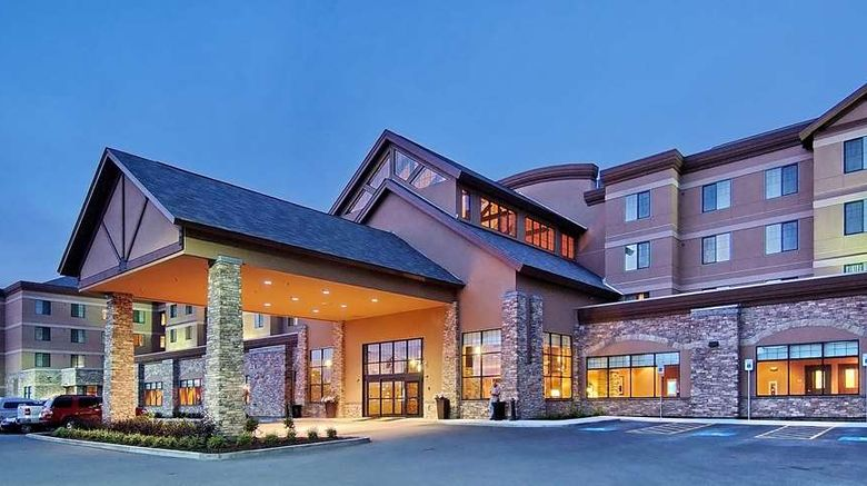 """Embassy Suites by Hilton Anchorage Exterior. Images powered by <a href=""""http://web.iceportal.com"""" target=""""_blank"""" rel=""""noopener"""">Ice Portal</a>."""