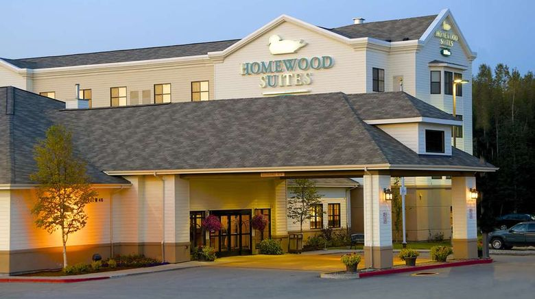 """Homewood Suites by Hilton Anchorage Exterior. Images powered by <a href=""""http://web.iceportal.com"""" target=""""_blank"""" rel=""""noopener"""">Ice Portal</a>."""