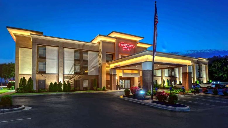 """Hampton Inn Batesville Exterior. Images powered by <a href=""""http://web.iceportal.com"""" target=""""_blank"""" rel=""""noopener"""">Ice Portal</a>."""