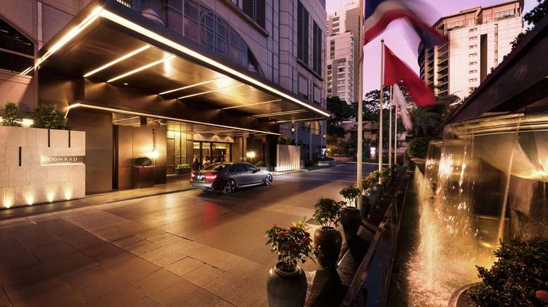 """<b>Conrad Bangkok Exterior</b>. Images powered by <a href=""""https://iceportal.shijigroup.com/"""" title=""""IcePortal"""" target=""""_blank"""">IcePortal</a>."""