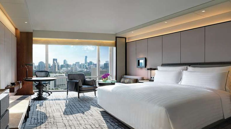 """<b>Conrad Bangkok Room</b>. Images powered by <a href=""""https://iceportal.shijigroup.com/"""" title=""""IcePortal"""" target=""""_blank"""">IcePortal</a>."""