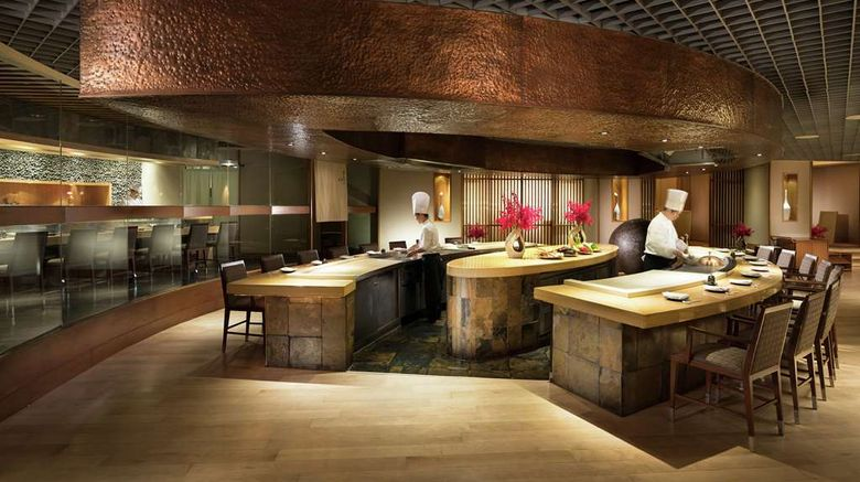 """<b>Conrad Bangkok Restaurant</b>. Images powered by <a href=""""https://iceportal.shijigroup.com/"""" title=""""IcePortal"""" target=""""_blank"""">IcePortal</a>."""