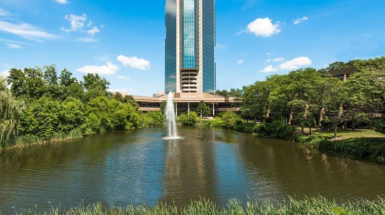 """Hilton Alexandria Mark Center Exterior. Images powered by <a href=""""http://web.iceportal.com"""" target=""""_blank"""" rel=""""noopener"""">Ice Portal</a>."""
