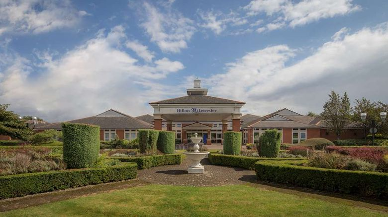 """Hilton Leicester Hotel Exterior. Images powered by <a href=""""http://web.iceportal.com"""" target=""""_blank"""" rel=""""noopener"""">Ice Portal</a>."""