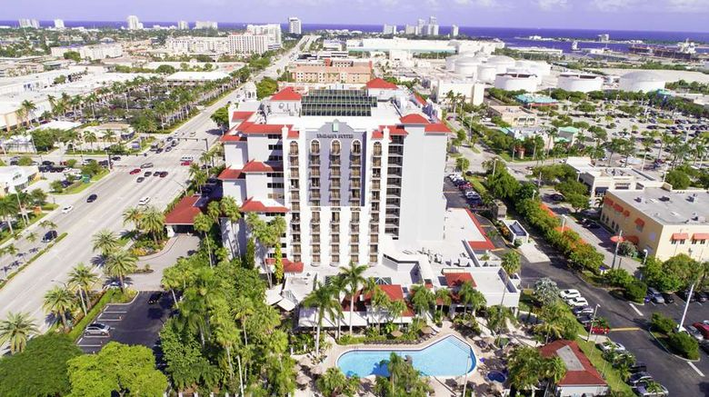 """Embassy Suites Ft. Lauderdale 17th Strt Exterior. Images powered by <a href=""""http://web.iceportal.com"""" target=""""_blank"""" rel=""""noopener"""">Ice Portal</a>."""
