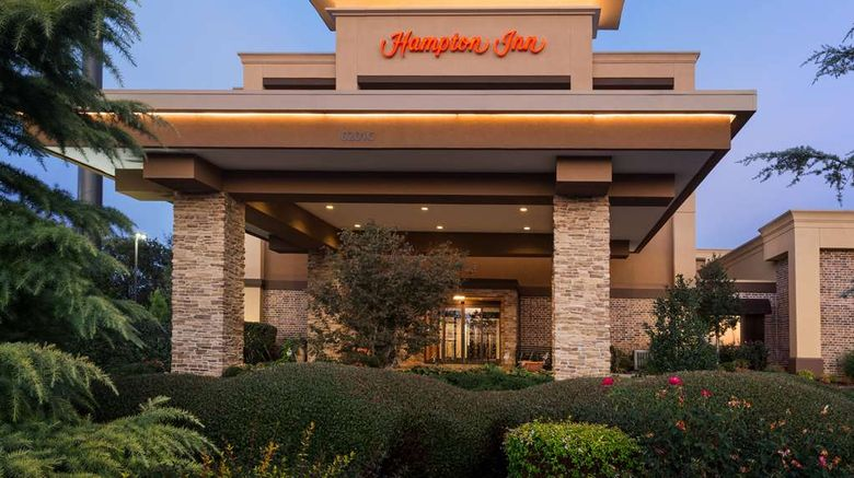 """<b>Hampton Inn Fort Smith Exterior</b>. Images powered by <a href=""""https://iceportal.shijigroup.com/"""" title=""""IcePortal"""" target=""""_blank"""">IcePortal</a>."""