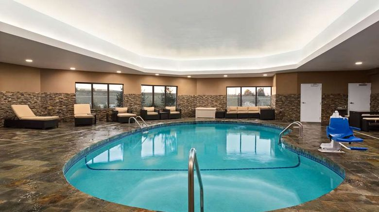 """<b>Hampton Inn Fort Smith Pool</b>. Images powered by <a href=""""https://iceportal.shijigroup.com/"""" title=""""IcePortal"""" target=""""_blank"""">IcePortal</a>."""