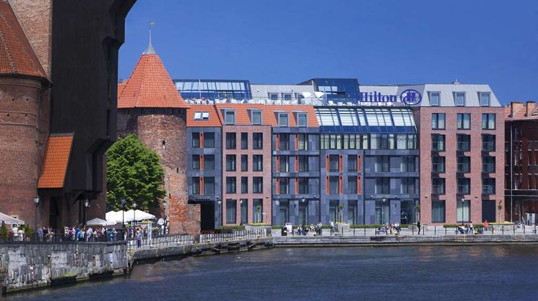 """Hilton Gdansk Exterior. Images powered by <a href=""""http://web.iceportal.com"""" target=""""_blank"""" rel=""""noopener"""">Ice Portal</a>."""