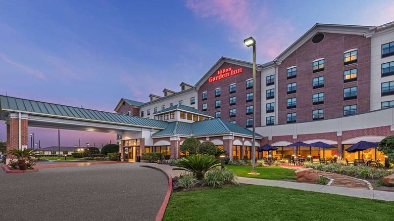 """Hilton Garden Inn Houston/Sugar Land Exterior. Images powered by <a href=""""http://web.iceportal.com"""" target=""""_blank"""" rel=""""noopener"""">Ice Portal</a>."""