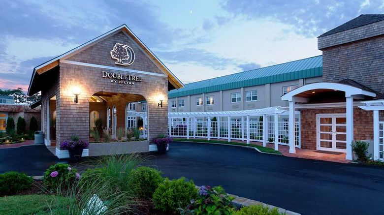 """DoubleTree by Hilton Hotel Cape Cod Exterior. Images powered by <a href=""""http://web.iceportal.com"""" target=""""_blank"""" rel=""""noopener"""">Ice Portal</a>."""