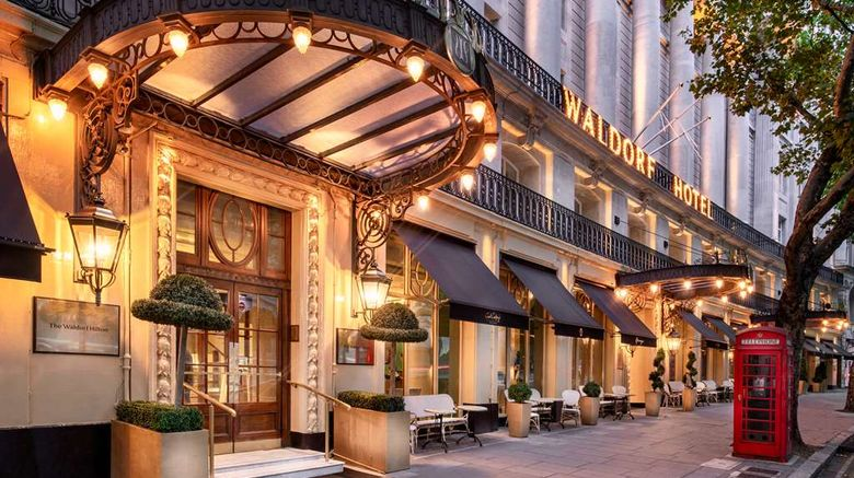 """The Waldorf Hilton, London Exterior. Images powered by <a href=""""http://web.iceportal.com"""" target=""""_blank"""" rel=""""noopener"""">Ice Portal</a>."""