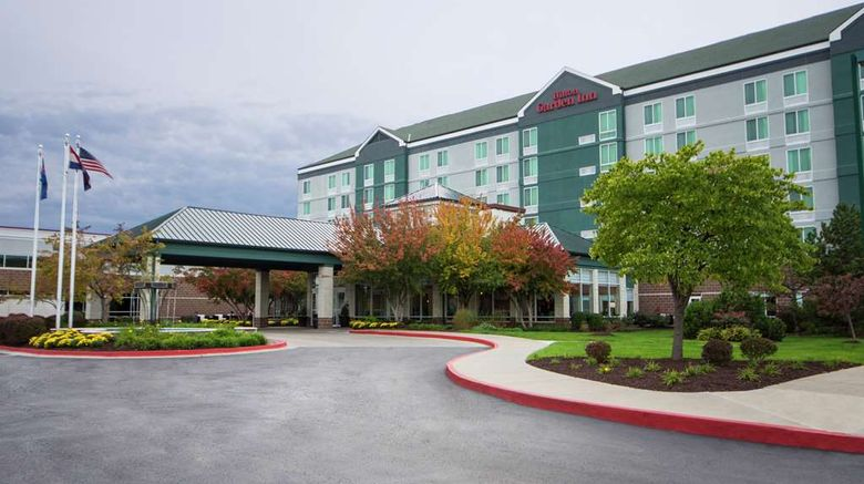 """Hilton Garden Inn Independence Exterior. Images powered by <a href=""""http://web.iceportal.com"""" target=""""_blank"""" rel=""""noopener"""">Ice Portal</a>."""