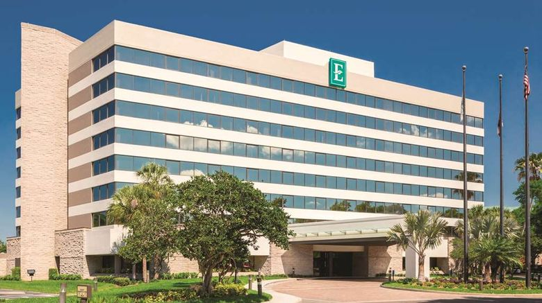 """Embassy Suites Orlando Intl Drive I 360 Exterior. Images powered by <a href=""""http://web.iceportal.com"""" target=""""_blank"""" rel=""""noopener"""">Ice Portal</a>."""