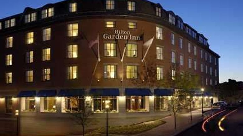 """Hilton Garden Inn Portsmouth Downtown Exterior. Images powered by <a href=""""http://web.iceportal.com"""" target=""""_blank"""" rel=""""noopener"""">Ice Portal</a>."""