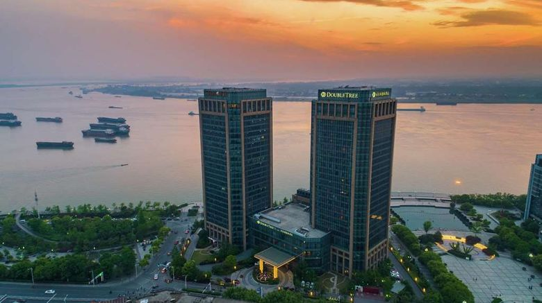 """DoubleTree by Hilton Wuhu Exterior. Images powered by <a href=""""http://web.iceportal.com"""" target=""""_blank"""" rel=""""noopener"""">Ice Portal</a>."""