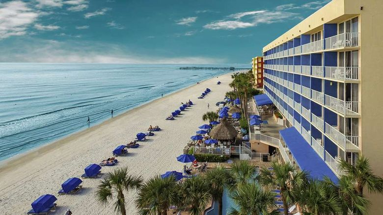 """Doubletree Beach Resort Exterior. Images powered by <a href=""""http://web.iceportal.com"""" target=""""_blank"""" rel=""""noopener"""">Ice Portal</a>."""