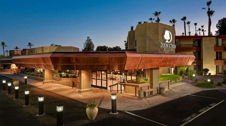 """DoubleTree by Hilton Hotel Phoenix Tempe Exterior. Images powered by <a href=""""http://web.iceportal.com"""" target=""""_blank"""" rel=""""noopener"""">Ice Portal</a>."""