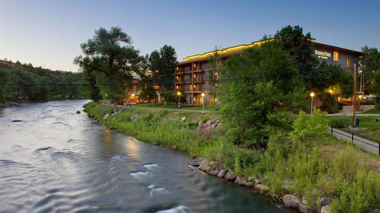 """Doubletree Hotel Durango Exterior. Images powered by <a href=""""http://web.iceportal.com"""" target=""""_blank"""" rel=""""noopener"""">Ice Portal</a>."""