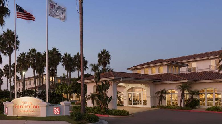 """Hilton Garden Inn Carlsbad Beach Exterior. Images powered by <a href=""""http://web.iceportal.com"""" target=""""_blank"""" rel=""""noopener"""">Ice Portal</a>."""