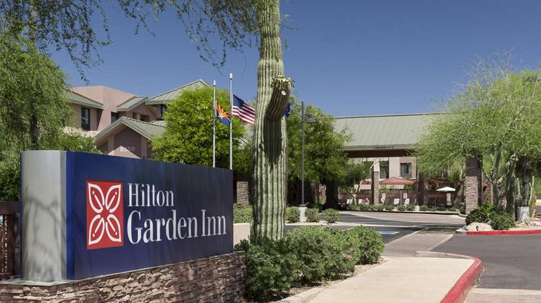 """Hilton Garden Inn Scottsdale North Exterior. Images powered by <a href=""""http://web.iceportal.com"""" target=""""_blank"""" rel=""""noopener"""">Ice Portal</a>."""