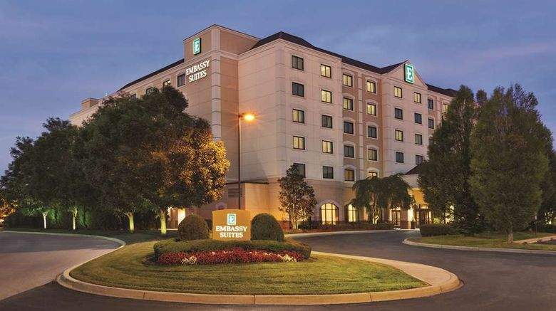 """Embassy Suites Louisville East Exterior. Images powered by <a href=""""http://web.iceportal.com"""" target=""""_blank"""" rel=""""noopener"""">Ice Portal</a>."""