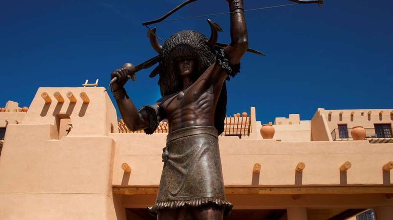 "Hilton Santa Fe Buffalo Thunder Exterior. Images powered by <a href=""http://web.iceportal.com"" target=""_blank"" rel=""noopener"">Ice Portal</a>."