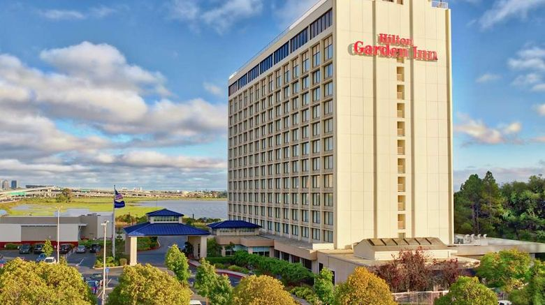 """Hilton Garden Inn San Francisco Exterior. Images powered by <a href=""""http://web.iceportal.com"""" target=""""_blank"""" rel=""""noopener"""">Ice Portal</a>."""