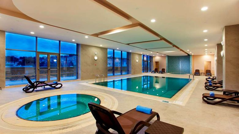 """<b>Hilton Garden Inn Sanliurfa Pool</b>. Images powered by <a href=""""https://iceportal.shijigroup.com/"""" title=""""IcePortal"""" target=""""_blank"""">IcePortal</a>."""