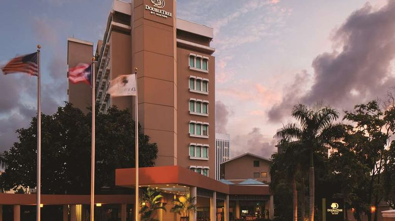 """Doubletree  by Hilton San Juan Exterior. Images powered by <a href=""""http://web.iceportal.com"""" target=""""_blank"""" rel=""""noopener"""">Ice Portal</a>."""