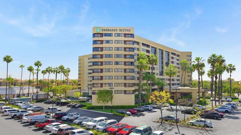 """Embassy Suites Anaheim - Orange Exterior. Images powered by <a href=""""http://web.iceportal.com"""" target=""""_blank"""" rel=""""noopener"""">Ice Portal</a>."""
