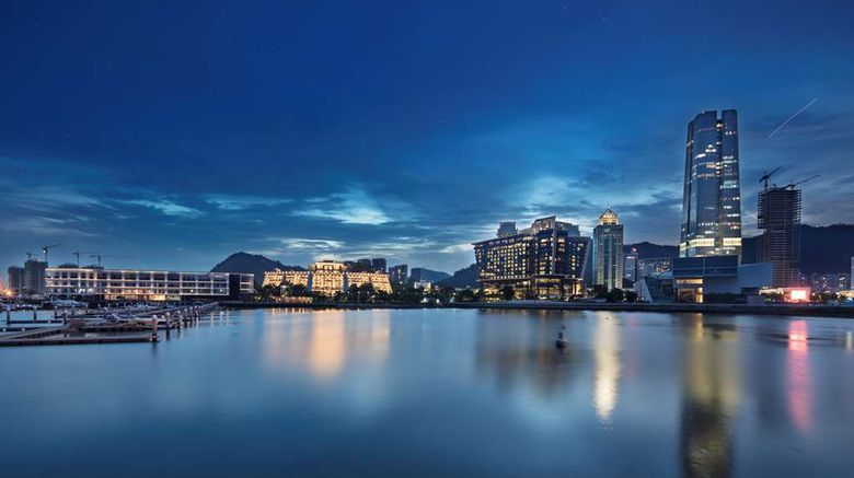 "Hilton Shenzhen Shekou Nanhai Exterior. Images powered by <a href=""http://web.iceportal.com"" target=""_blank"" rel=""noopener"">Ice Portal</a>."